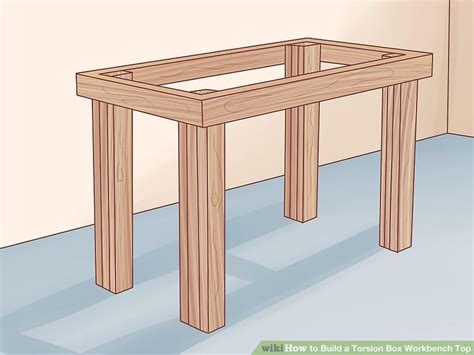 How To Build A Torsion Box Workbench Top (with Pictures