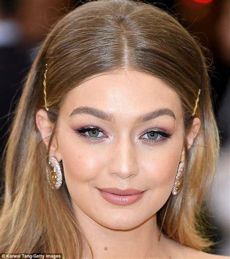 celebs wear cheap budget makeup   met gala daily mail