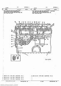 International Harvester 5088 5488 Diesel Engine Parts Manual