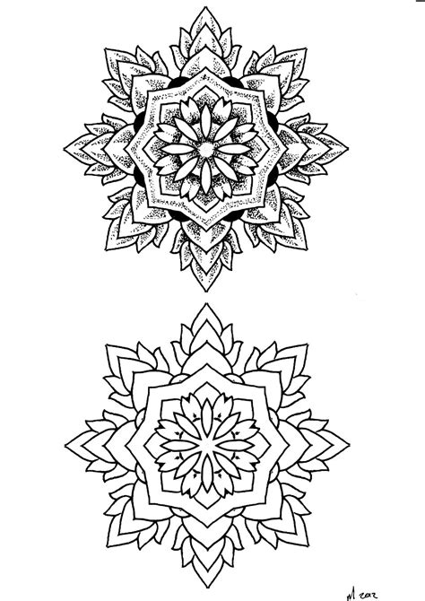Mandala Tattoo Drawing at GetDrawings | Free download