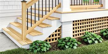 Long Lasting Deck Stain Or Paint by Wood Lattice Dimensions