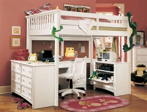 Loft Bed Plans For Small Boys Girls And Children / Design