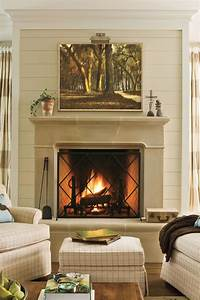 decorating fireplace mantels 25 Cozy Ideas for Fireplace Mantels - Southern Living