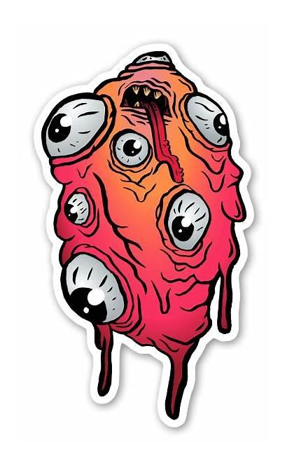 Czerwone Abomination Stickerapp