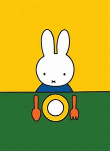 Miffy Ready to Eat Mini Poster