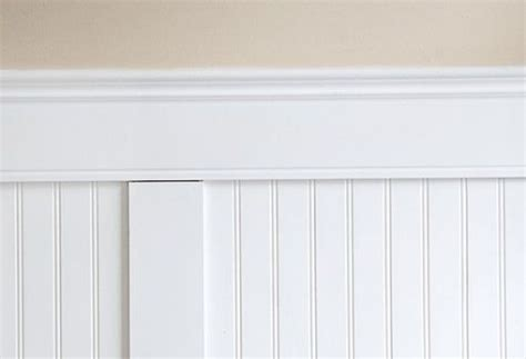 Beaded Wainscoting Panels by Beaded Panel Wainscoting Combines The Vertical Lines Of
