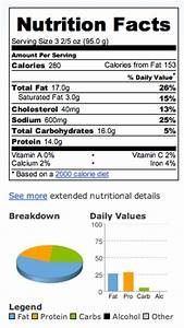 Mcdonalds Nutrition Nuggets - Nutrition Ftempo