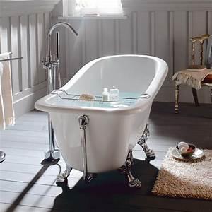 Baignoire Avec Pied : 1000 id es sur le th me baignoire sur pied sur pinterest ~ Edinachiropracticcenter.com Idées de Décoration