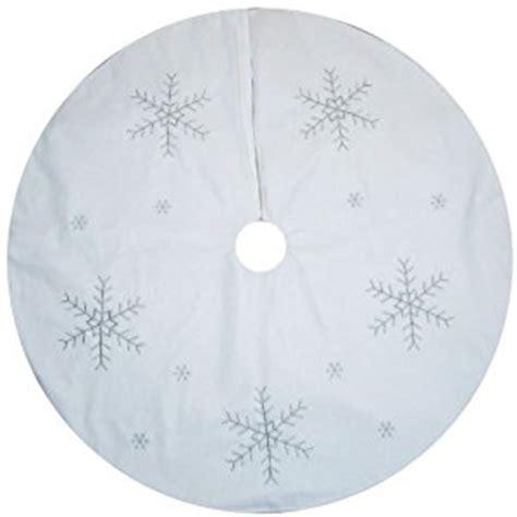 amazon com large white christmas tree skirt decoration