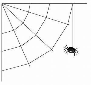 Black white spider web clip art black white spider web ...