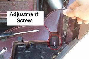 Ford Focus Headlight Adjustment Screws