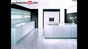 Moderne Fliesen Küche : wei e marmor fliesen moderne k che youtube ~ A.2002-acura-tl-radio.info Haus und Dekorationen