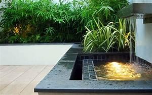 Small, Courtyard, Garden