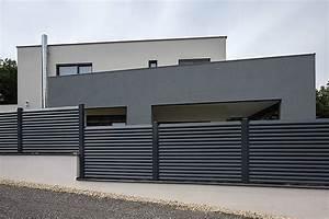 Aluminium Zaun Modern : guardi aluzaun trento ~ Articles-book.com Haus und Dekorationen
