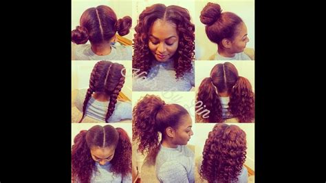 Middle Part Weave Hairstyles