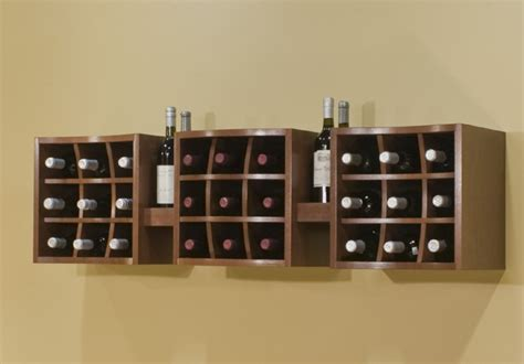 wall hanging wine rack types of beautiful wine racks for your home ideas 4 homes