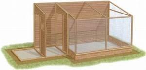 Fabrication D Une Voliere Exterieur : construction d 39 une voliere exterieure au paradis des ~ Premium-room.com Idées de Décoration