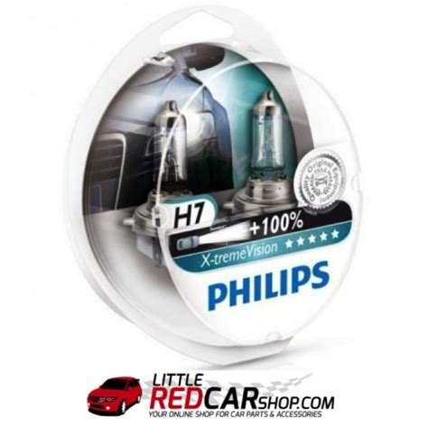 Philips X Treme Vision H4 H7 Pack Headlight