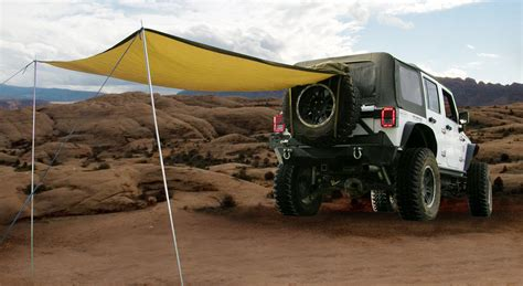 desert tan jeep liberty smittybilt 5662424 g e a r trail shade in desert tan