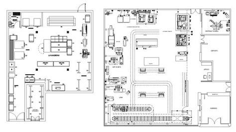 laundry plans cad design  cad blocksdrawingsdetails