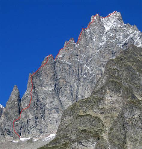 Aiguille Noire de Peuterey : S ridge - Camptocamp.org