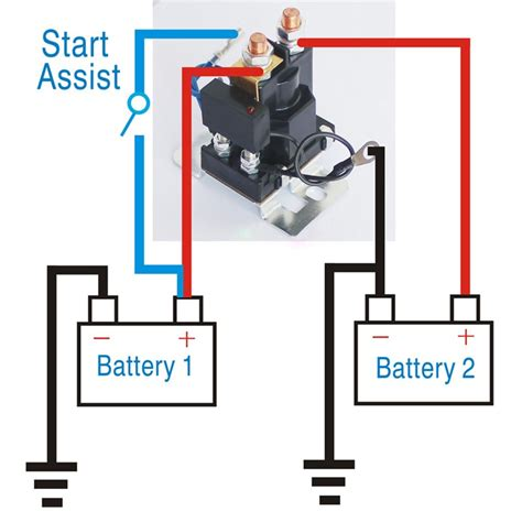 amp battery isolator dual battery auto increase