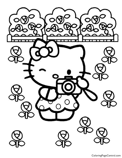 kitty coloring page  coloring page central