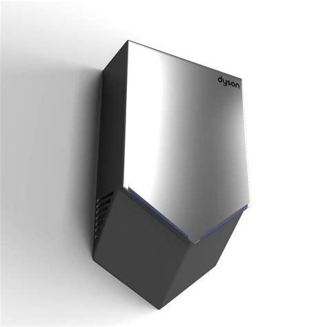 dyson airblade v dyson airblade v 3d model max obj 3ds fbx mtl cgtrader