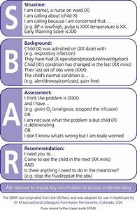 sbar help this would have been helpful in nursing With sbar template word