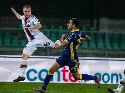 Serie A: Genoa hold Verona 0-0 despite being depleted by ...