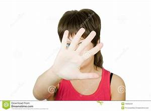 Girl Hiding Face Stock Photos - Image: 16830243