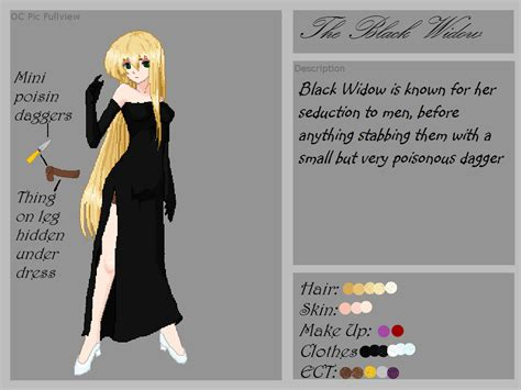creepypasta oc template creepypasta oc the black widow reference sheet by shipping war leaders on deviantart