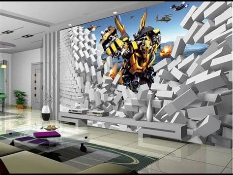 stunning  wallpaper  decorating youtube