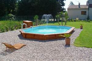 Piscine Semi Enterré Bois : piscine bois semi enterr e 8x4 ~ Premium-room.com Idées de Décoration