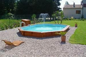 piscine bois semi enterree 8x4 With marvelous terrasse piscine semi enterree 8 piscine bois ronde