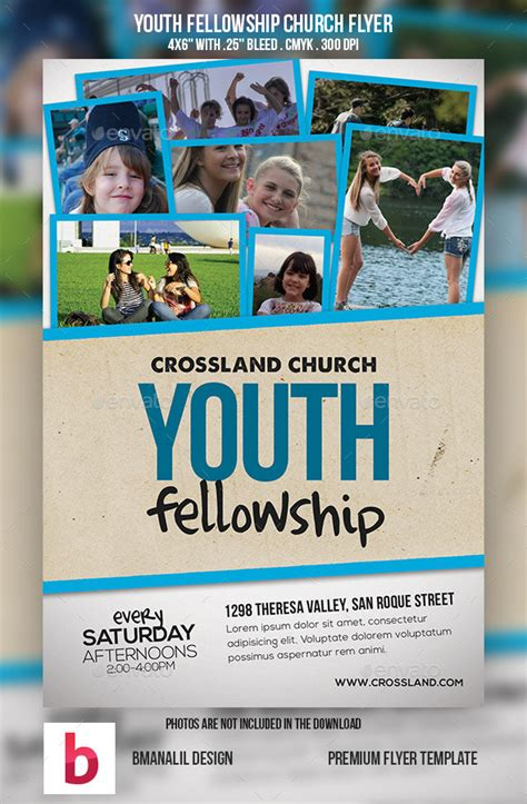 youth fellowship church program  bmanalil graphicriver