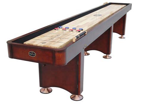 16 foot shuffleboard table 16 39 georgetown cherry shuffleboard table shuffleboard net