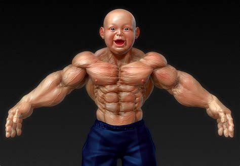 yujong wang - Muscle baby