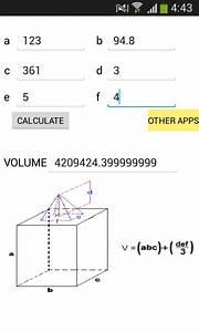 Calcul Volume Litre : volume calculator android apps on google play ~ Melissatoandfro.com Idées de Décoration