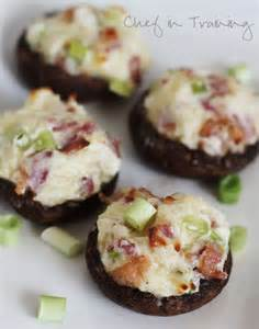 Easy Stuffed Mushrooms with Cheese