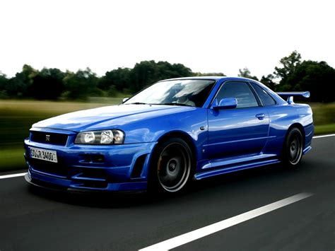 Nissan Skyline Gt R R34 1999 On Motoimg Com