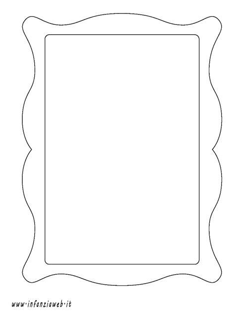 cornice da disegnare disegni da colorare categoria oggetti vari immagine