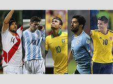 Jornada decisiva en las eliminatorias al Mundial de Fútbol