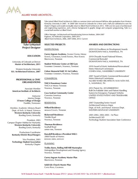 Junior Architect Resume Template by Junior Architect Resume Images Frompo 1