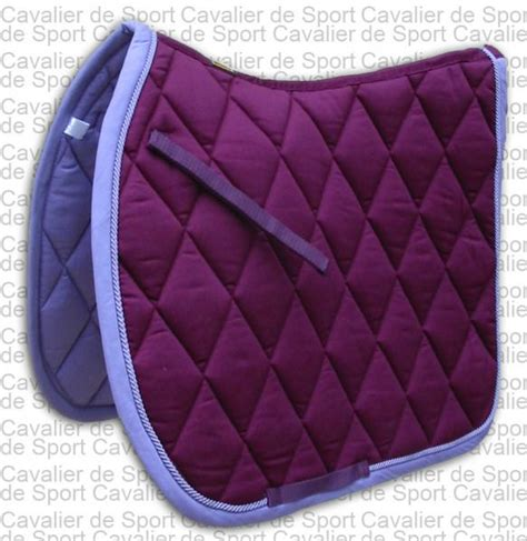 tapis de selle br event prune purple violet prune mixte