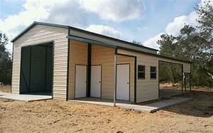 30x40 custom steel building central florida steel With custom built metal buildings