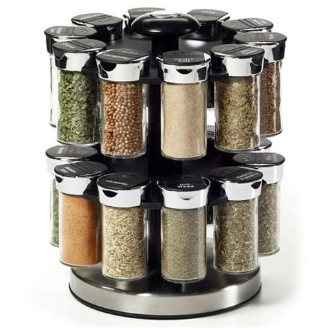 Filled Spice Rack Cheap by 20 Spice Rack Ideas For Both Roomy And Cred Kitchen