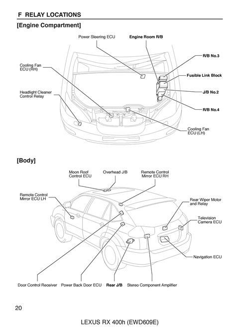 Free Lexus Rxh Oem Electrical Wiring Diagram