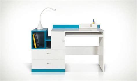 mobilier de bureau jpg bureau design ado et enfant en bois blanc et bleu jolly