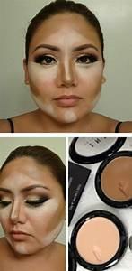 Contouring a round face | Makeup | Pinterest